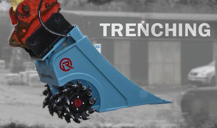 Trenching banner