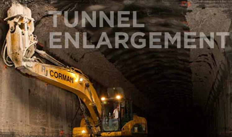 tunnel enlargement banner