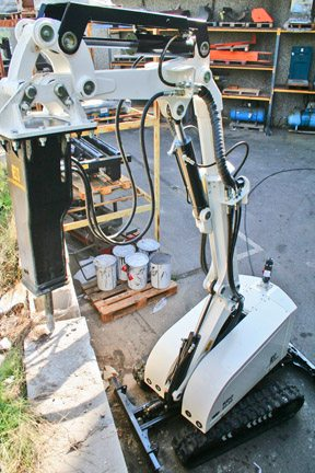 Rdc Robot Alpine Products For Rock Grinder Attachments