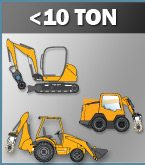 less than ten ton equipment