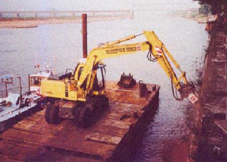 Underwater Cutting Applications For Rock Grinding And