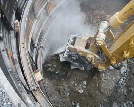 Shaft Sinking Applications For Rock Grinding And Drum