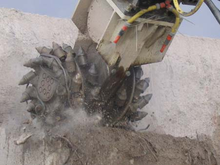 Concrete Cutting Application