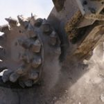 concrete rockwheel Demolition application