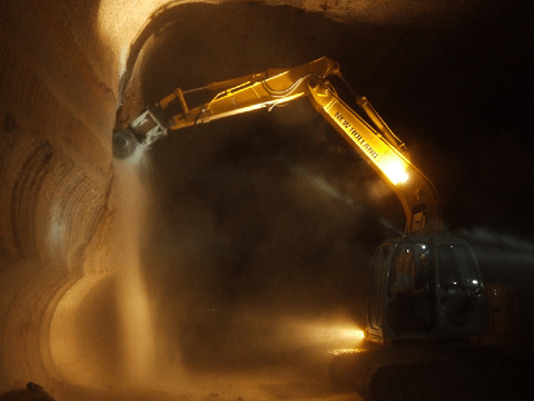 Mining and Tunneling Application