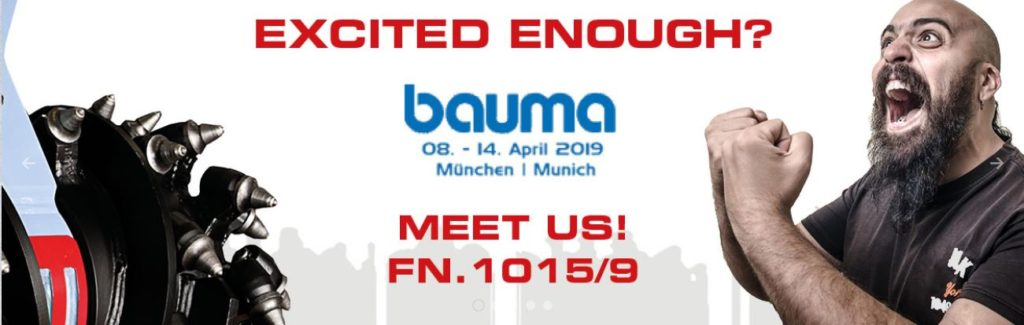 Alpine Bauma Germany banner